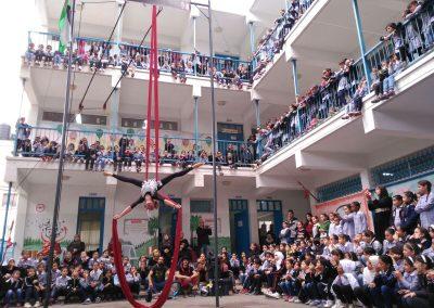 Colegio de la UNRWA, Palestina 2016