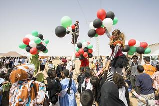 Wilaya de Dajla, campamentos saharauis1 2014